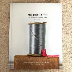 Microcrafts hardcover project book